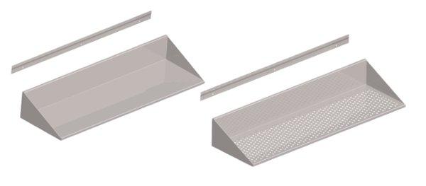 Mensole per bagno acciaio inox ispirazione design casa for Ikea mensole acciaio